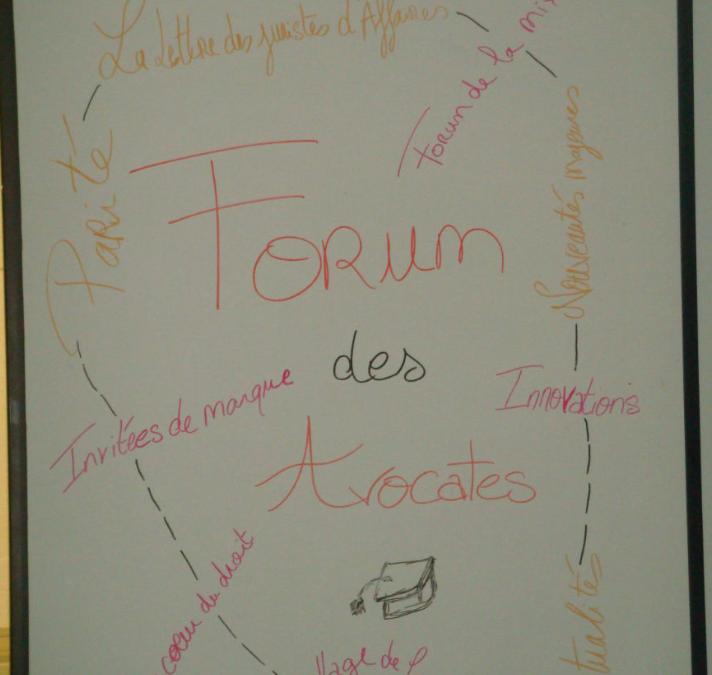 Nouveauté 2014 : Le Forum des Avocates